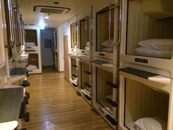A Night S Sleep In A Tokyo Capsule Hotel Gap Year
